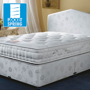 Airsprung Beds The Symphony 1000 4FT 6 Double Divan Bed
