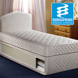 Airsprung Beds The Quattro 3FT Single Divan Bed