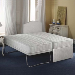 Airsprung Beds The Quattro 3FT Single Divan Guest Bed