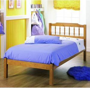 Airsprung Beds The Seattle 4FT 6 Double Wooden Bedstead
