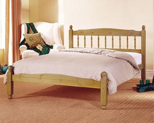 Airsprung Beds The Vancouver 2FT 6 Small Single Wooden Bedstead