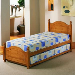 Airsprung Beds Columbia 3FT Single Wooden Guest Bed Frame Only