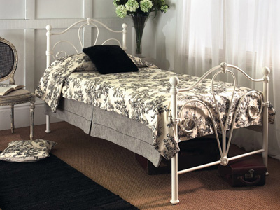 Limelight Nimbus 4FT 6 Double Metal Bedstead