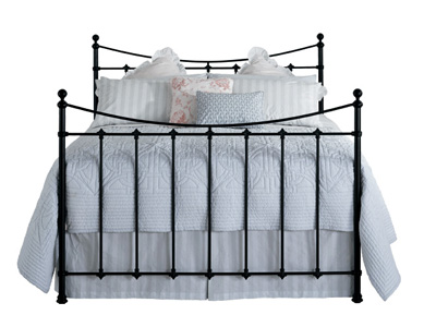Original Bedstead Co Chatsworth 4FT 6 Double Metal Bedstead