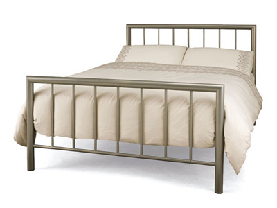 Serene Modena 4FT Small Double Metal Bedstead