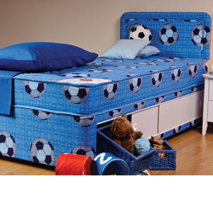 Sweet Dreams Sport 2FT 6 Small Single Divan Bed