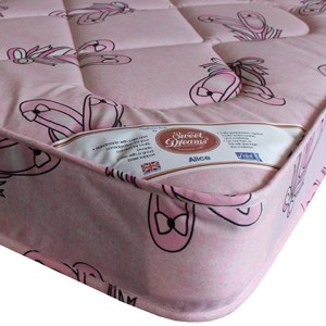 Sweet Dreams Hearts 3FT Single Mattress