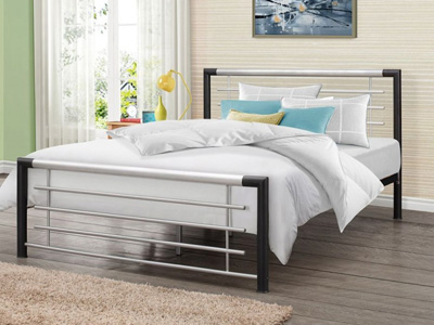Birlea Faro 4FT 6 Double Metal Bedstead