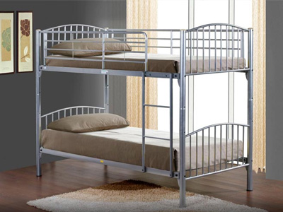 Birlea Corfu  Metal Bunk Bed
