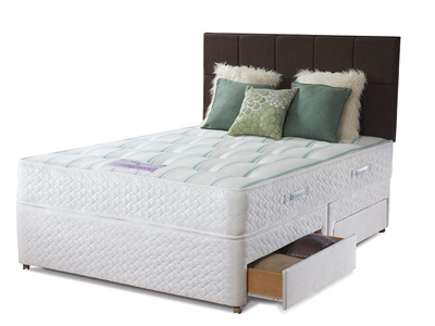 Sealy Pearl Ortho 4FT Small Double Divan Bed
