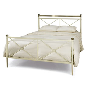 Serene Pasha 4FT 6 Double Metal Bedstead