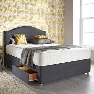 Relyon Pocket Memory Ultima 4FT 6 Double Divan Bed
