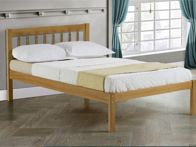 Birlea Santos 4FT Small Double Wooden Bedstead