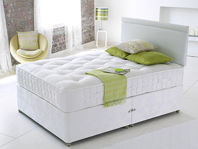 Star-Ultimate Latex 1000 4FT Small Double Divan Bed