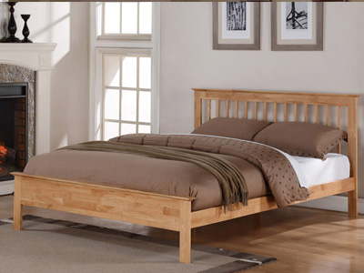 Flintshire Pentre 4FT 6 Double Bedstead