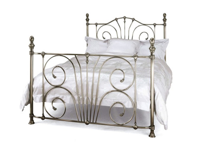 Serene Jessica 4FT Small Double Metal Bedstead