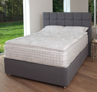 Relyon Montpellier 4FT 6 Double Divan Bed