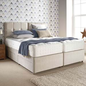 Relyon Reims 4FT 6 Double Divan Bed