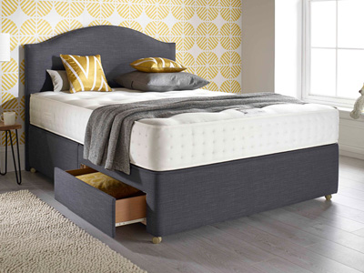 Relyon Pocket Ultima 4FT 6 Double Divan Bed