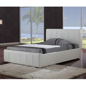 Harmony Pisa 5FT Kingsize Leather Bed
