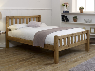 Limelight Astro 4FT 6 Double Wooden Bedstead
