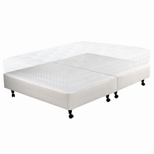 Star-Ultimate Sleepstar 4FT Small Double Shallow Divan Base