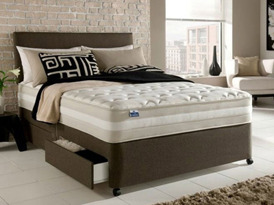 Silentnight London 4FT 6 Double Divan Bed