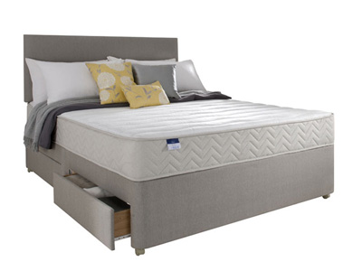 Silentnight Seoul 5FT Kingsize Divan Bed