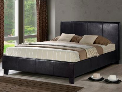 Birlea Berlin 3FT Single Leather Bedstead