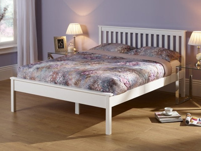 Serene Esther Oak 5FT Kingsize Wooden Bedstead