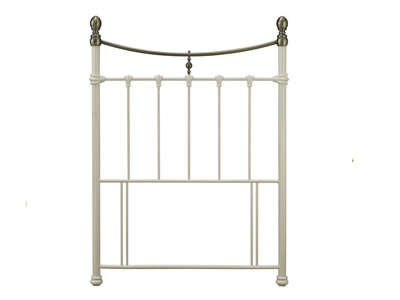 Serene Edwardian II 6FT Superking Metal Headboard