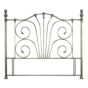 Serene Jessica 6FT Superking Metal Headboard