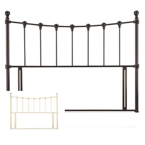 Serene Marseilles 6FT Superking Metal Headboard