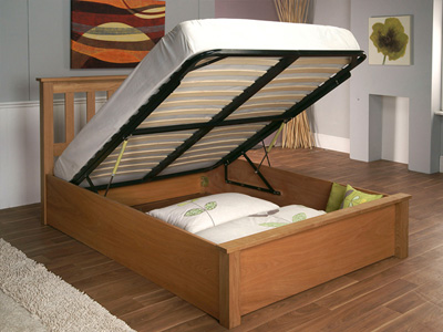 Limelight Beds Terran 5FT Kingsize Wooden Bedstead