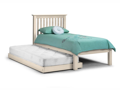 Julian Bowen Barcelona 3-In-1  Wooden Guest Bed - White