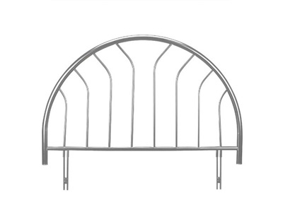 Julian Bowen Lola 4FT 6 Double Metal Headboard