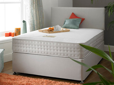 Shire Beds ACTIVE Dual Seasons Ortho 4FT 6 Double Divan Bed