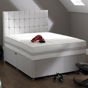 Shire Beds ACTIVE Latex 2000 3FT Single Divan Bed