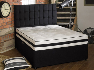 Shire Beds ACTIVE Memory 3000 6FT Superking Divan Bed