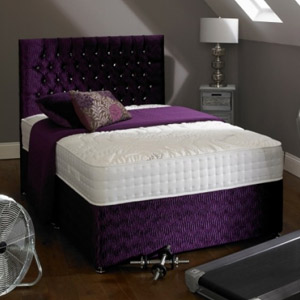 Shire Beds ACTIVE Memory 2000 2FT 6 Small Single Divan Bed
