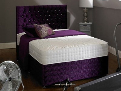 Shire Beds ACTIVE Memory 2000 5FT Kingsize Divan Bed