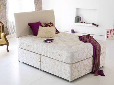 Shire Beds Sandringham 3000 2FT 6 Small Single Divan Bed