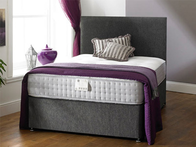 Shire Beds Richmond 2000 4FT Small Double Divan Bed