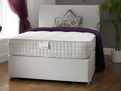 Shire Beds Harrogate 1000 2FT 6 Small Single Divan Bed
