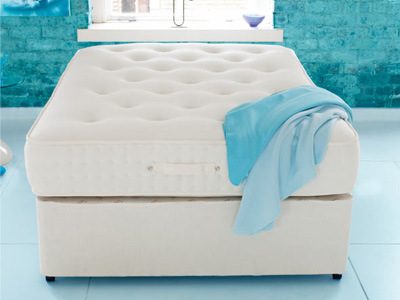 Shire Beds Healthisleep Duotemp 6FT Superking Divan Bed