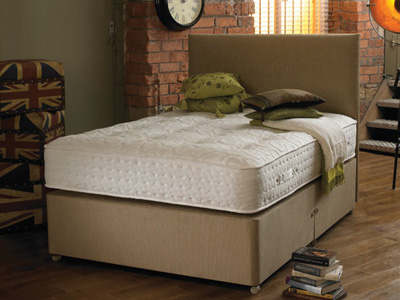Shire Beds Eco Snug 6FT Superking Divan Bed