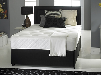 Giltedge Beds Silk 1000 4FT 6 Double Divan Bed