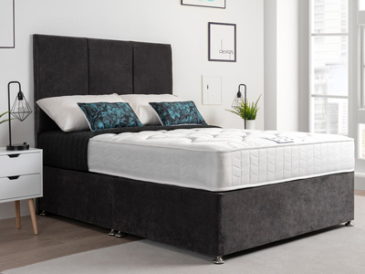Giltedge Beds Topaz 4FT Small Double Divan Bed