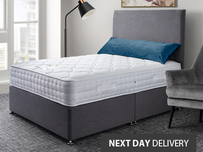 Giltedge Beds Flex 200 Firm 6FT Superking Divan Bed