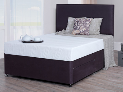 Giltedge Beds Eco Premium 4FT 6 Double Divan Bed